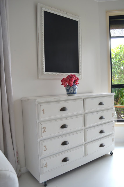 Chest of Drawers & A Painted Armoire – Paint Me White