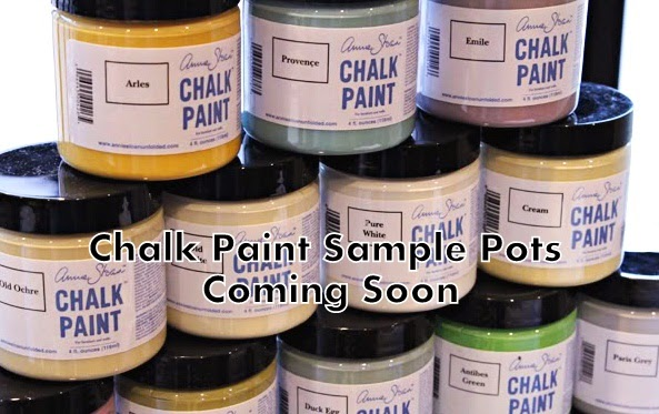 Annie Sloan Chalk Paint Sample Pots in Stock this week