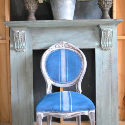 Fire Place Surround using Annie Sloan Chalk Paint